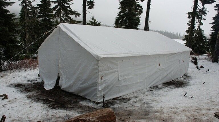 New 13  x 20 Canvas Wall Tent & Angle Kit by Elk Mountain Tents  big savings