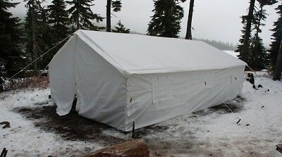 New 13 x 20 Canvas Wall Tent & Angle Kit by Elk Mountain