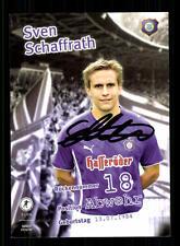Sven Schaffrath Autogrammkarte Erzgebirge Aue 2009-10 Original Signiert+A 149199