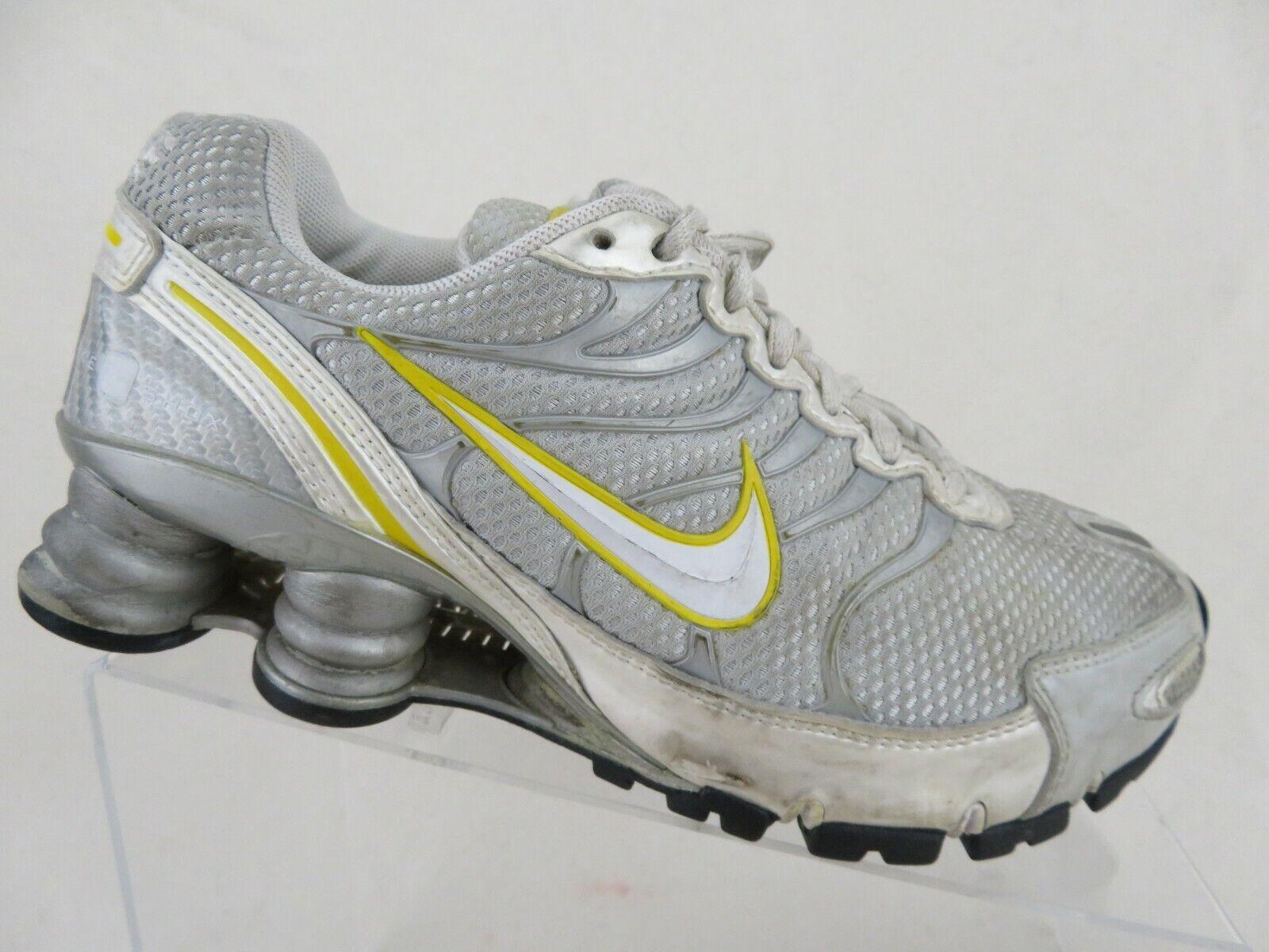 NIKE Shox NZ Livestrong Grey Yellow Sz 6 Women Running shoes