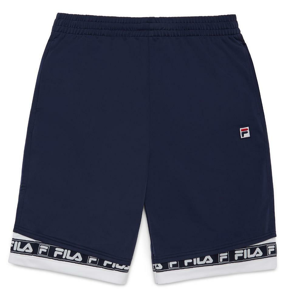 Fila Navy White Tag Shorts