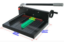Manual A4 12in Stack Paper Cutter Black Heavy Duty Thick Layer Paper Cutter