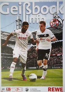 FC Köln Geißbock Info 2012//13 1 VfR Aalen
