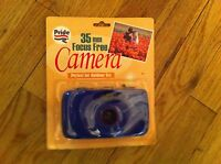 Vintage Pride Products Brand 35mm Focus Free Camera In Package Outdoor