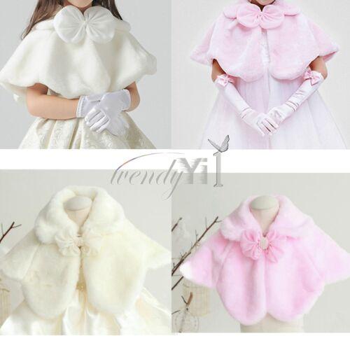 Bolero Jacket Shrug Cloak Cardigan for Wedding Bridesmaids//Flower Girls Parties