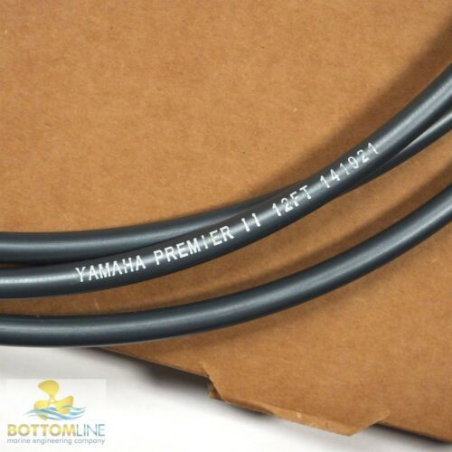 Outboard Control Cable High performance 12FT Yamaha Premium Low Friction