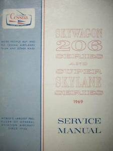 1969  Cessna 206 Super Skylane   Service Manual