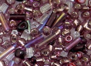 BG05-Beads-Perlen-Glasperlen-Rocailles-Mix-MALVE-900-St-Seedbeads-Saatperlen