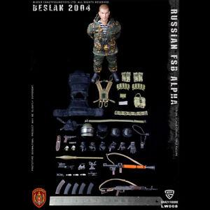 CrazyFigure LW008 1//12 Russian Alpha Special Forces Grenadier RPG Set Model