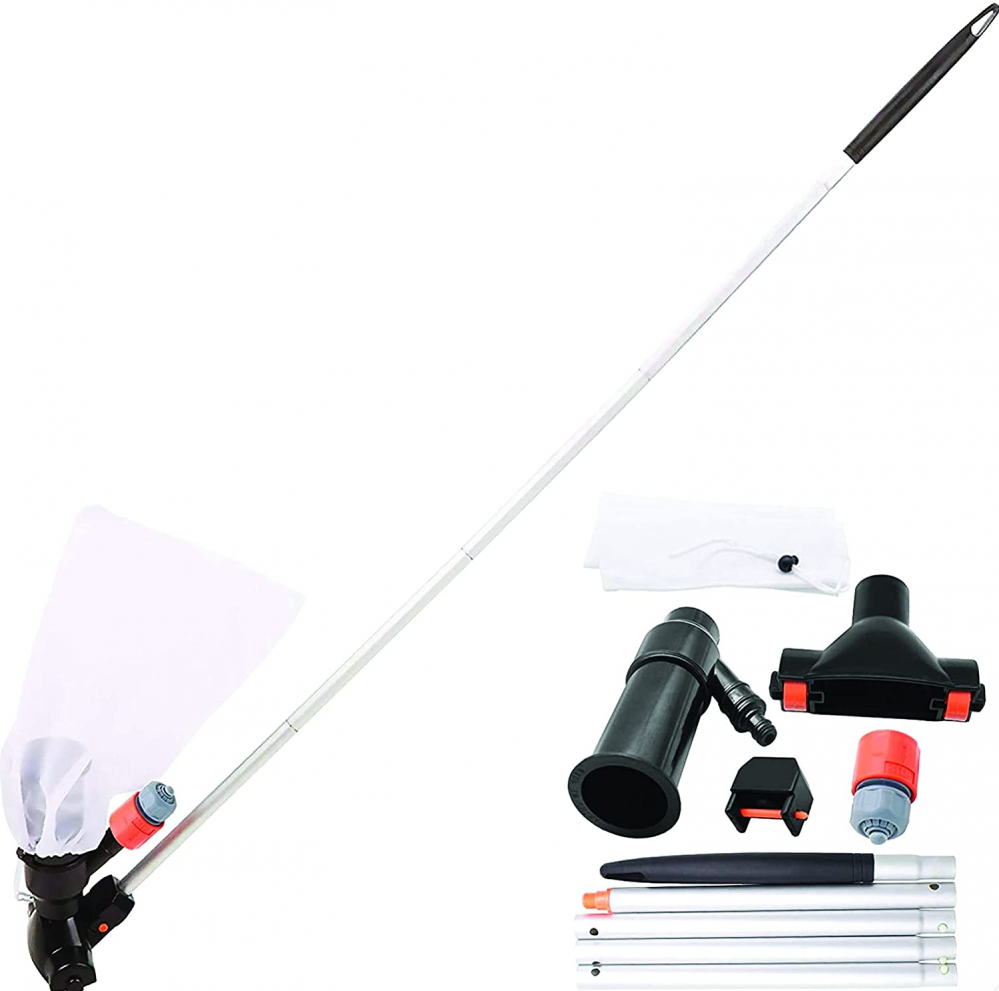 SUDS-ONLINE Swimming Pool Super Jet Vacuum With 5 Pole Sections Vac...