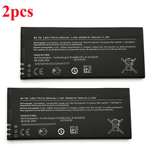 2pc-Replacement-3000mAh-Battery-For-Microsoft-Lumia-950-RM-1106-1104-110-McLa