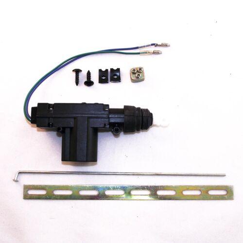 Cierre centralizado 2 hilos actuador//motor 12V 616-101