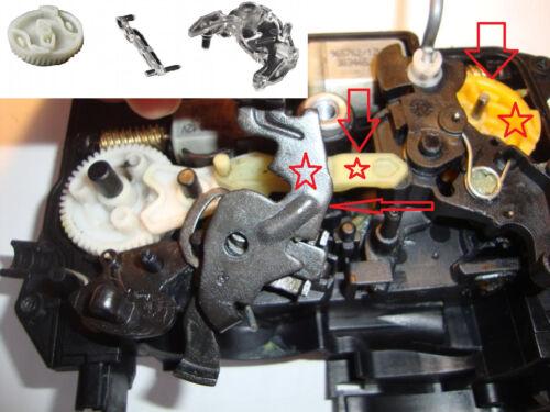 BMW E90 E91 E92 E93 F01 Serratura Meccanismo Chiusura Kit Riparazione Front L+R