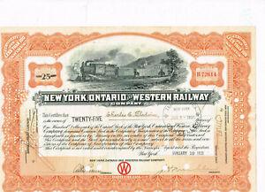 New-York-Ontario-and-Western-Railway-1931-orange-VF