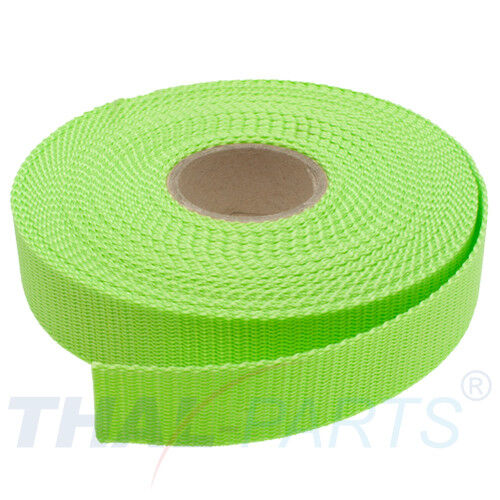 1,6mm stark pistacho Polypropylen Taschengurt 10m Gurtband 30mm Breit ca