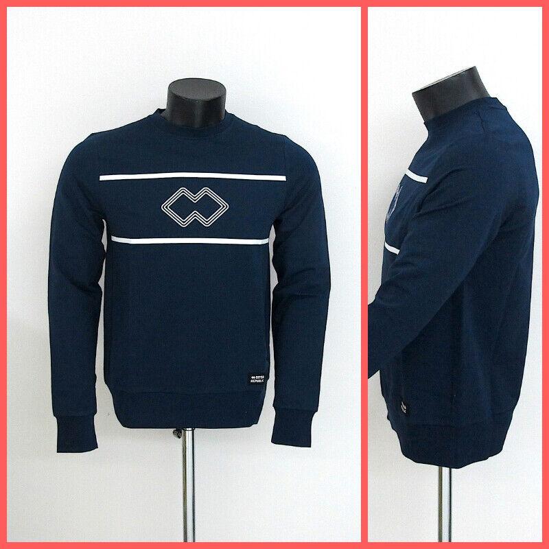 Errea 'Republic Herren Sweatshirt Trend R19G0Q0Z00090 Blau Sommer 2019
