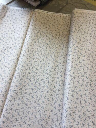 Makower Fabrics Blue Sky Geometric By The Half Metre