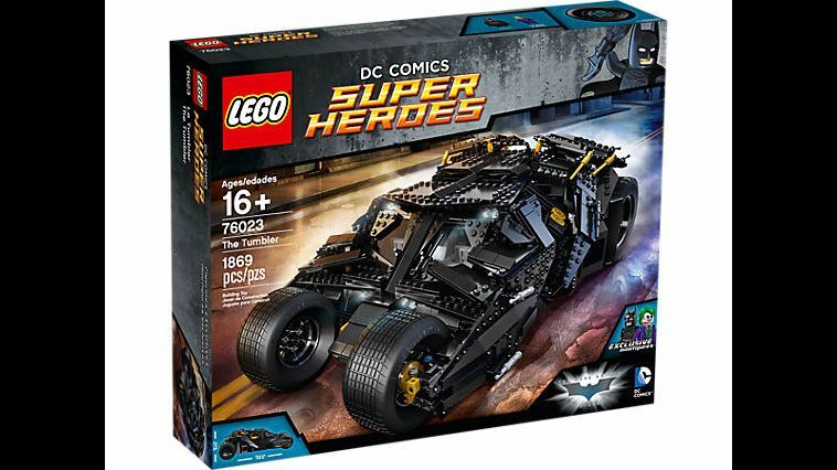 LEGO DC Super Heroes 76023 le tumbler Batman & The Joker-Brand New & Sealed