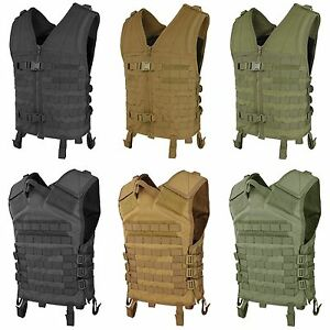 Condor-MV-Tactical-MOLLE-PALS-Modular-Hunting-Cross-Draw-Quick-Release-QR-Vest