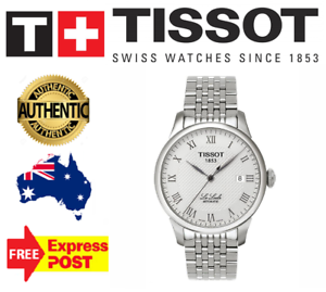 NEW-TISSOT-T41-1-483-33-T-CLASSIC-LE-LOCLE-AUTOMATIC-MENS-WATCH-5-YR-WARRANTY