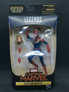 "Marvel Legends 6/"" CAPITANO Marvel WAVE 1 Sentinella Kree il capitano Marvel in JACKET"