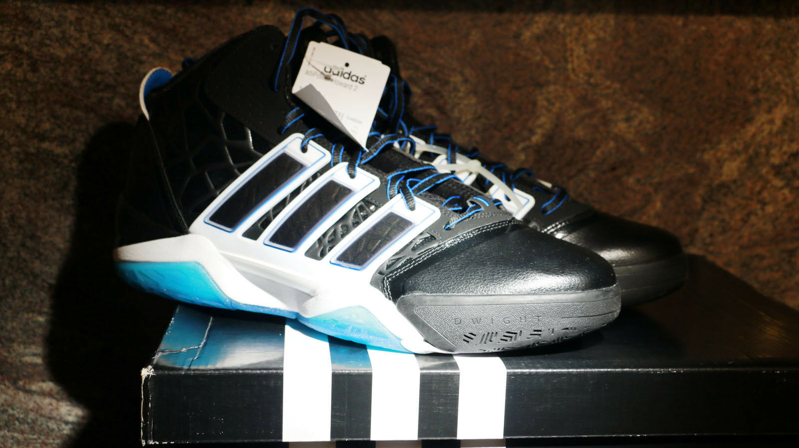 Adidas adipower howard 2 via g48694 nero nero 11,5 / blu brillante dimensioni 11,5 nero bec92c