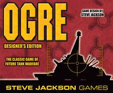 Ogre Designer's Edition Steve Jackson Board Game NEW SEALED