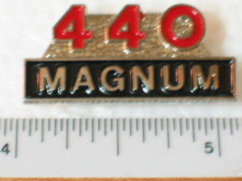 Lapell Pin ** Hat Tack  *** Nicer than Picture 440 Magnum Engine Pin