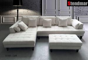 Microfiber Sectional Sofa Set S168lw