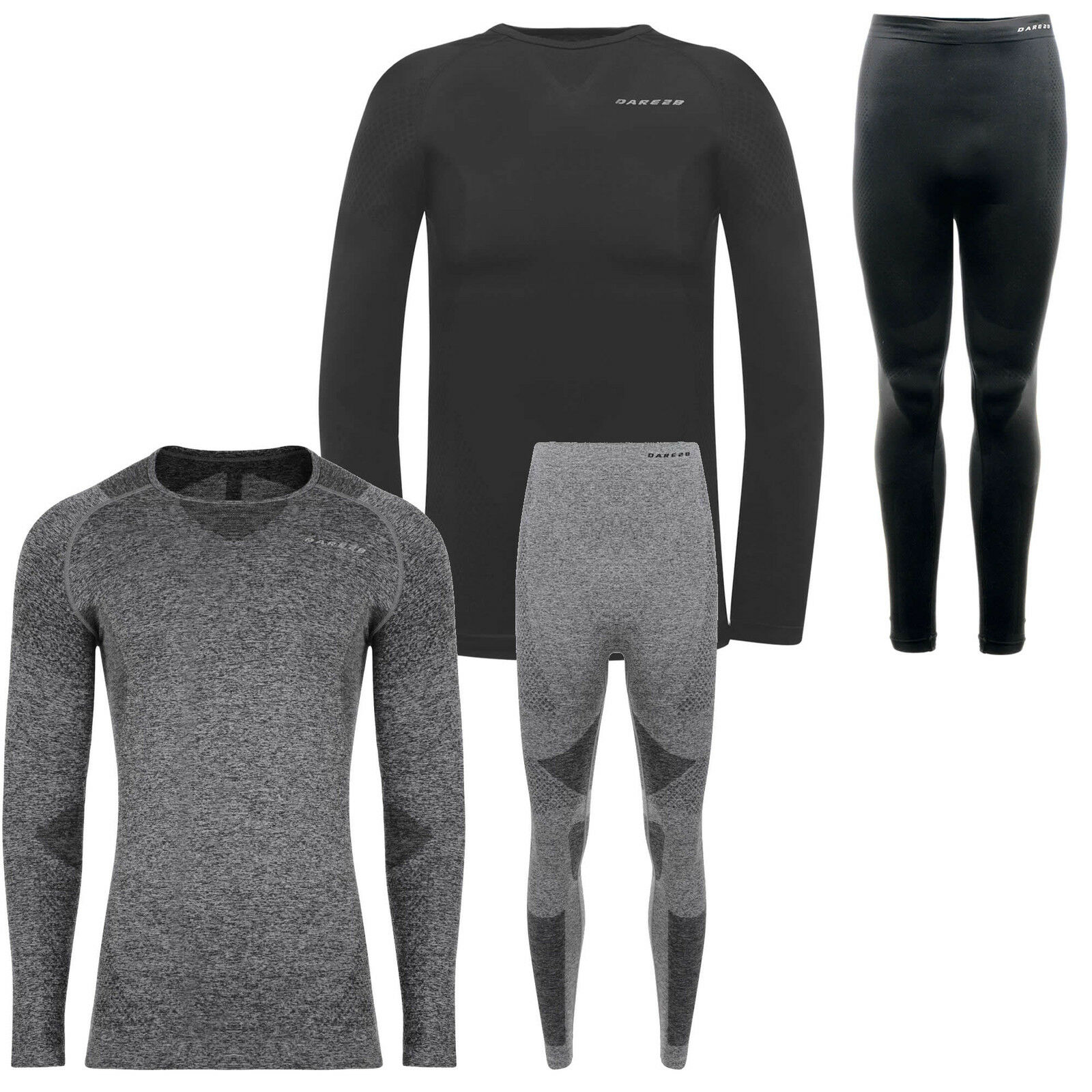 Dare2b Zonal III Mens Base Layer Set Thermal Long Sleeve top & Trousers