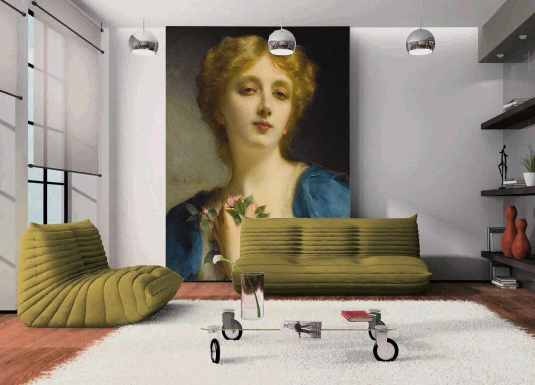 3D Elegant adlige Mädchen 304 Fototapeten Wandbild Fototapete BildTapete Familie