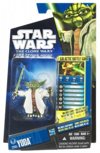 Star Wars Yoda The Clone Wars Action Figure