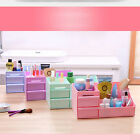 Cosmetic Makeup Case Organizer Holder Drawers Plastic Jewelry Storage Box