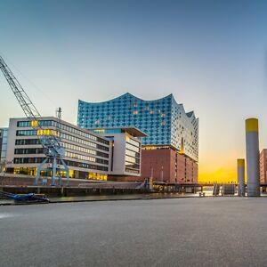 Hambourg-villes voyage pour 2 personnes. dans la city Incl. Hôtel & petit-déjeuner buffet  </span>