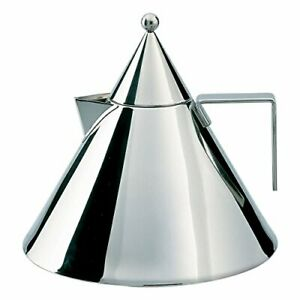 Aldo-Rossi-2-qt-Il-Conico-Water-Tea-Kettle-Stainless-Steel-Mirror-Polished