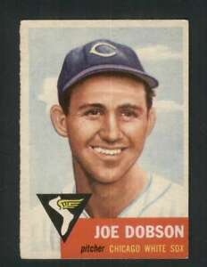 1953-Topps-5-Joe-Dobson-EX-EX-White-Sox-129666