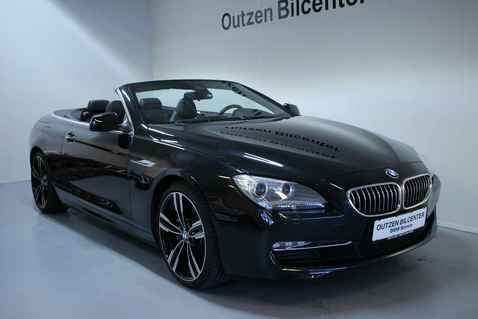 BMW 640d 3,0 Cabriolet xDrive aut. 2d - 749.800 kr.