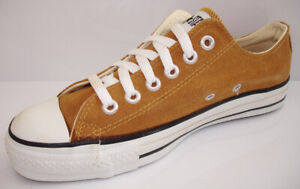 Vintage CONVERSE Chuck Taylor All Star Camel Suede Low Made