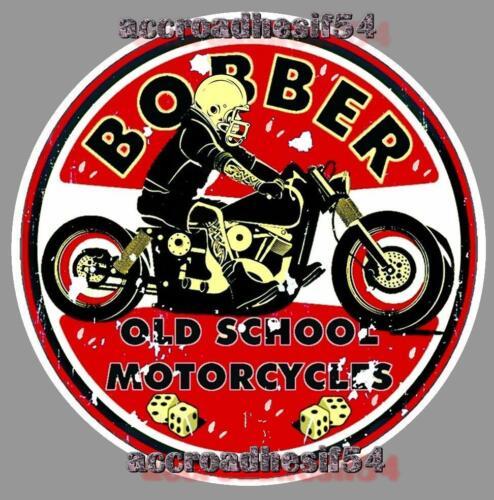STICKER bobber motorcycles moto circuit biker harley custom STICKERS AUTOCOLLANT