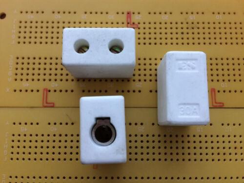 1 VIE 30A 450V Connettore Morsettiera in ceramica e STEATITE ad alta temperatura