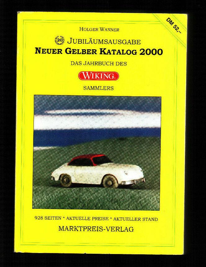 exclusivo Holger Wanner  nuevo catálogo amarillo amarillo amarillo 2000 el anuario del Wiking-coleccionista  tienda de ventas outlet
