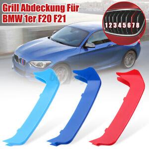 3x-Per-Bmw-Serie-1-F20-F21-2012-gt-14-M-Sport-Cover-Griglie-Fasce-Calandre-m1