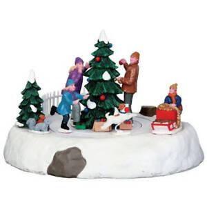 Lemax-villaggio-di-Natale-034-RASCAL-ROVER-034-MPN-N-44772-ANIMATA-Tavola-Imbottita