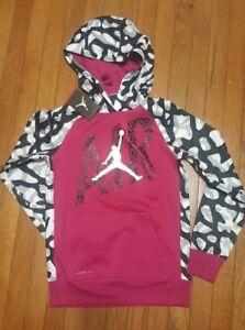 b7e611b35c67b1 Nike Jordan Therma Fit Hoodie Jacket Youth L 12-13 Unisex NWT