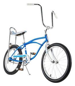"20"" Schwinn Sting-Ray Bicycle, Banana Seat Bike, Single Speed, Blue"