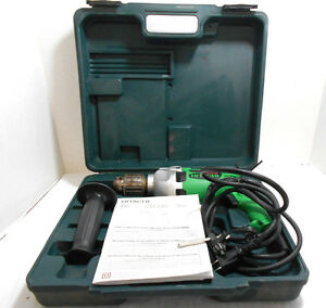 Details about Hitachi D13VF Drill Model D 10VF-D 10VG D Tool Single Phase, Commutator Motor