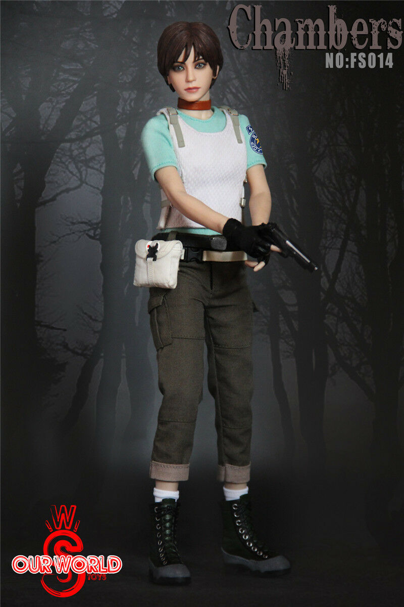 figura femenina 1 6 SW ourworld FS014 Rebecca Chambers Resident Evil Colección