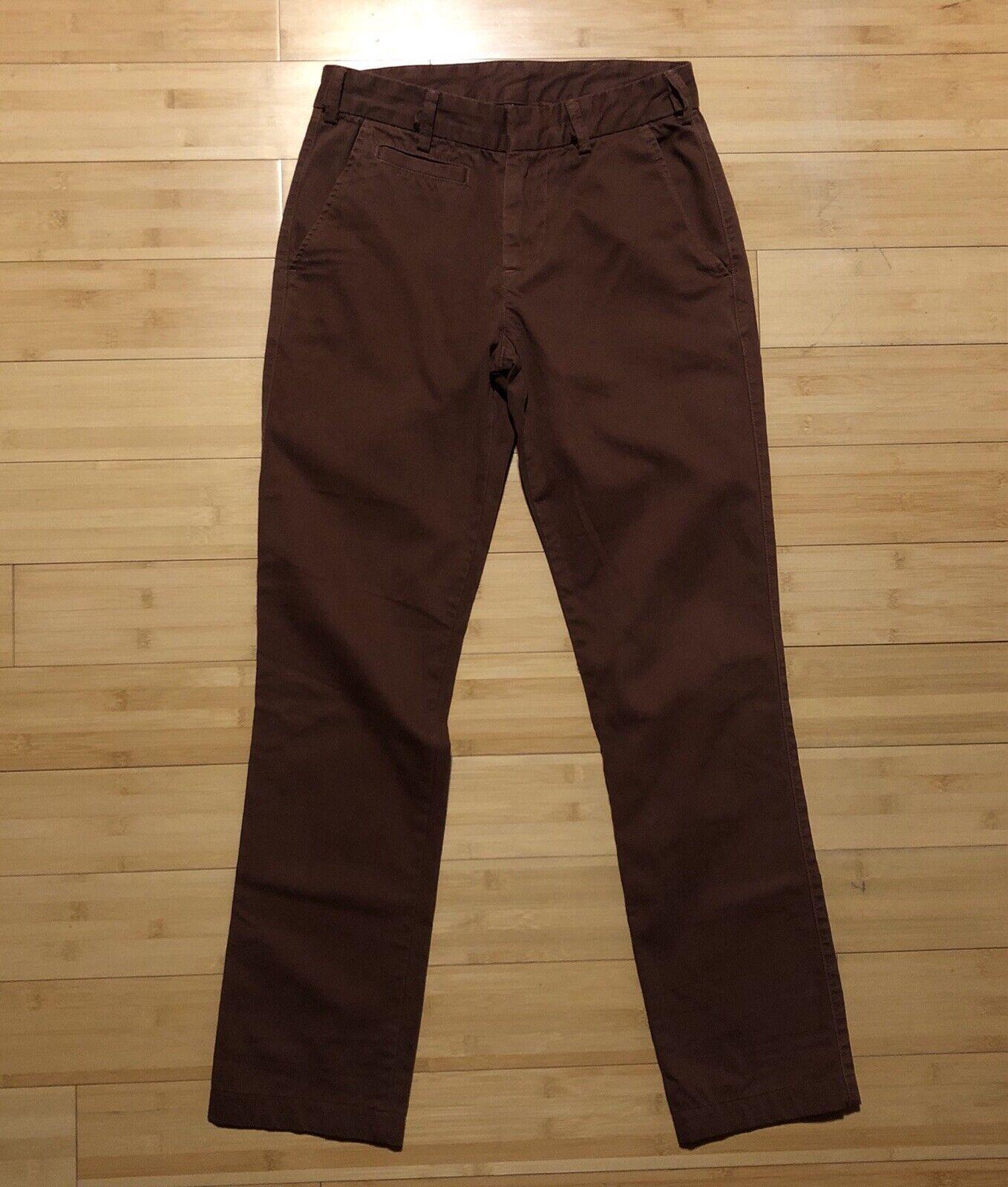 Save Khaki United S.K.U. Bedford Cord Trousers Size 28