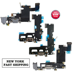 OEM-Charger-Charging-Port-Dock-Mic-Flex-Replacement-For-iPhone-6-6s-7-8-iPhone-X