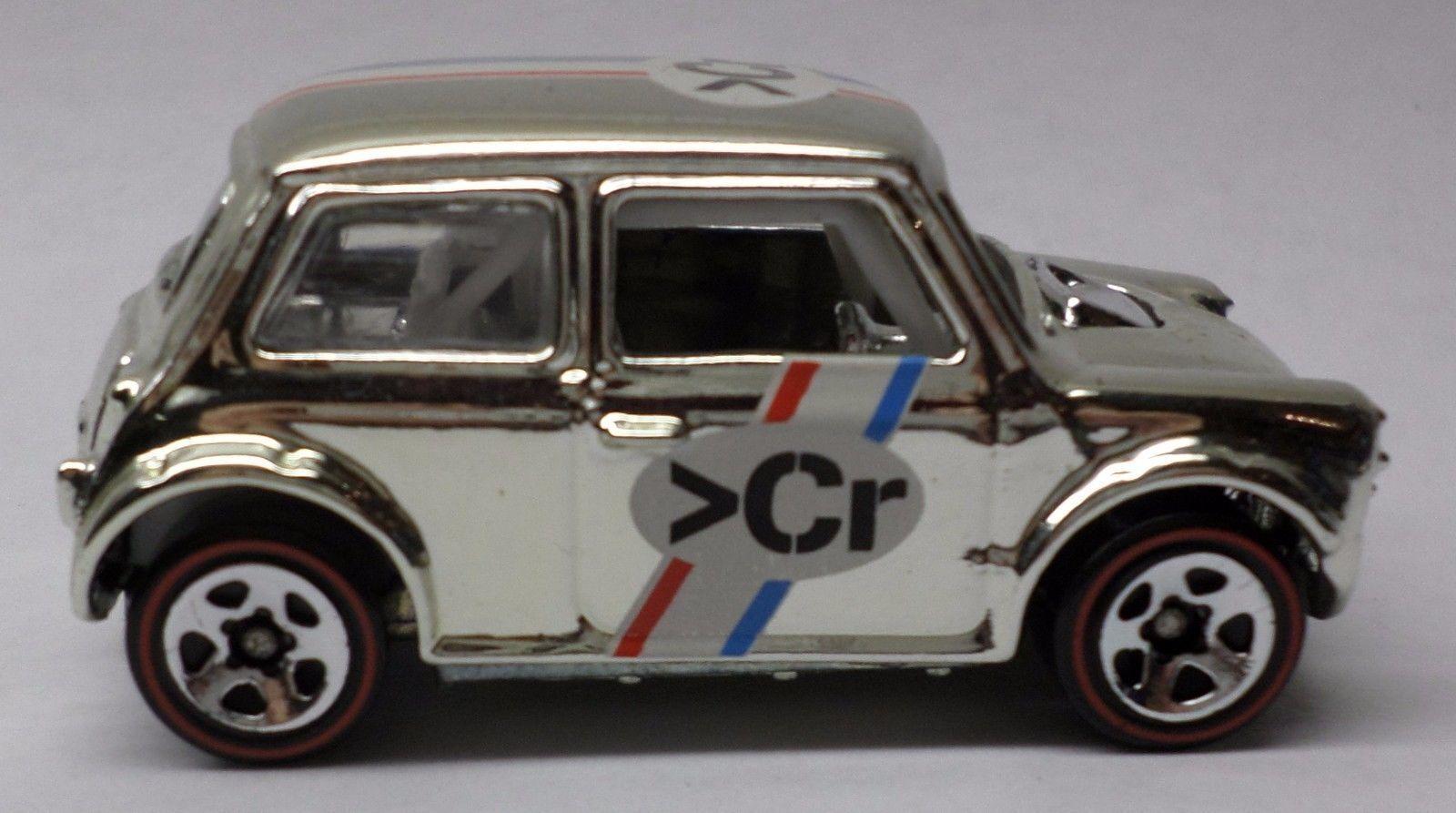 Hot Wheels Super Chromes Morris Mini Cooper Target Exclusive 1 64 Loose Mint